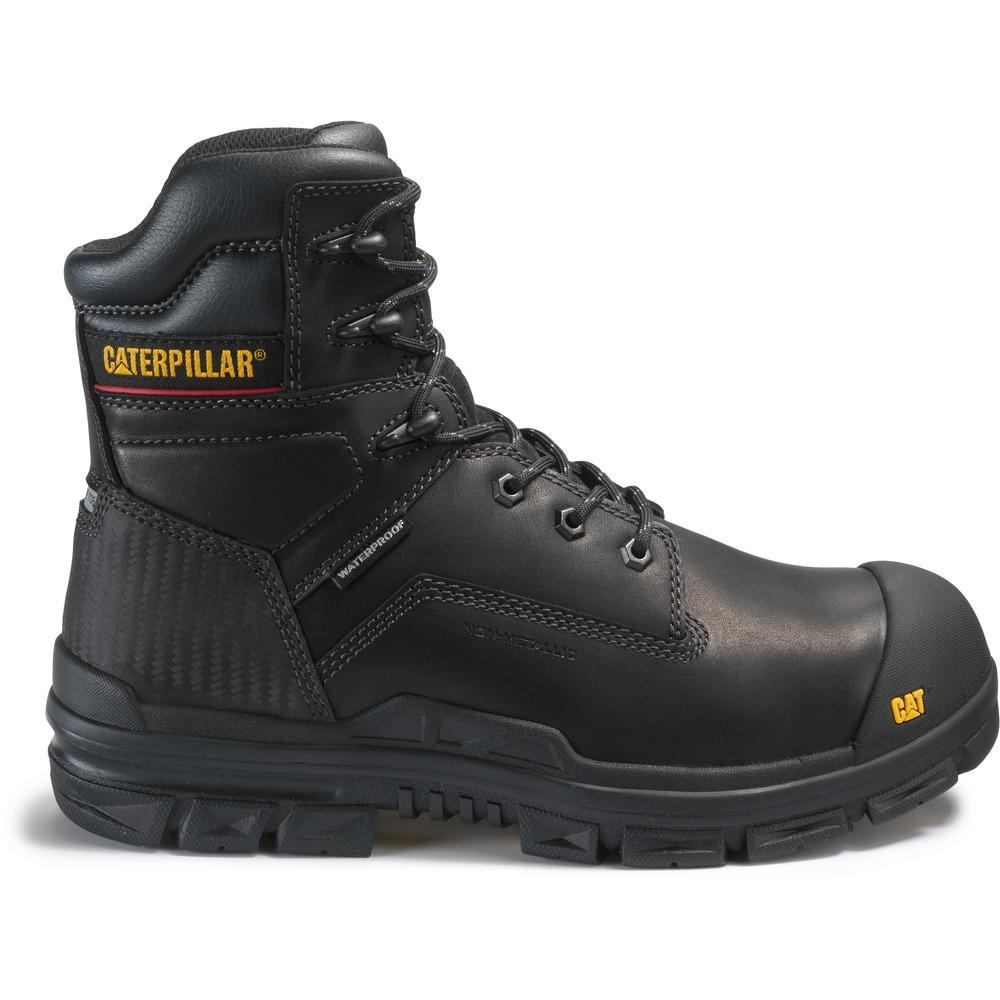 8774c1ac533 Crossbar Men's Size 10M Black Composite Toe Boots