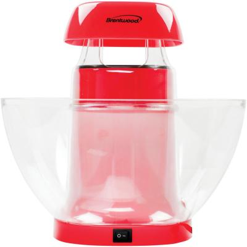 1200-Watt 196 oz. Red Hot-Air Popcorn Machine