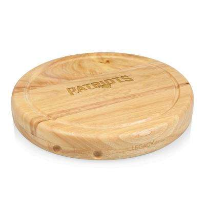 New England Patriots Circo Wood Cheese Board Set with Tools