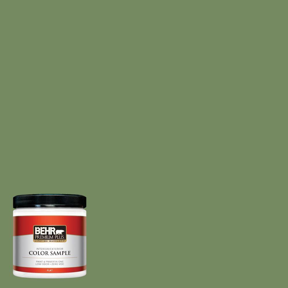 BEHR Premium Plus 8 oz. #M380-6 Fern Canopy Interior/Exterior Paint Sample