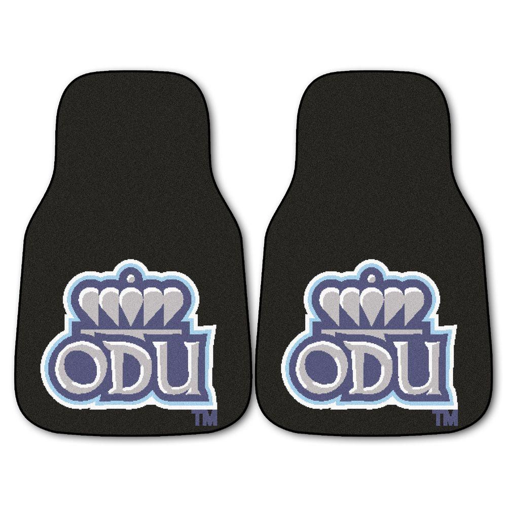 Old Dominion University 18 in. x 27 in. 2-Piece Carpeted Car