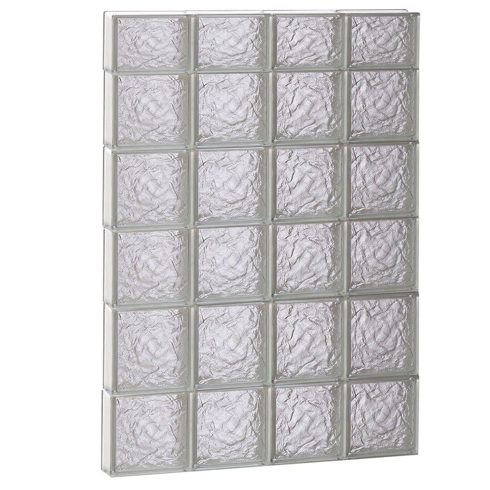 31 in. x 44.5 in. x 3.125 in. Ice Pattern Non-Vented