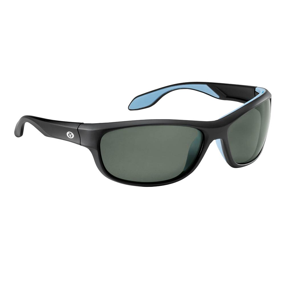 Cayo Polarized Sunglasses Matte Black Frame with Smoke Lens