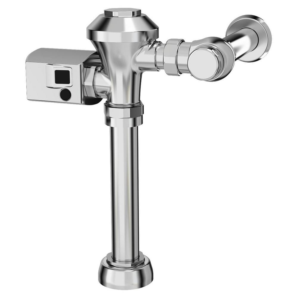 Ultima Sensor-Operated 1.1 GPF Toilet Diaphragm-Type Supply Flush Valve in Polished Chrome