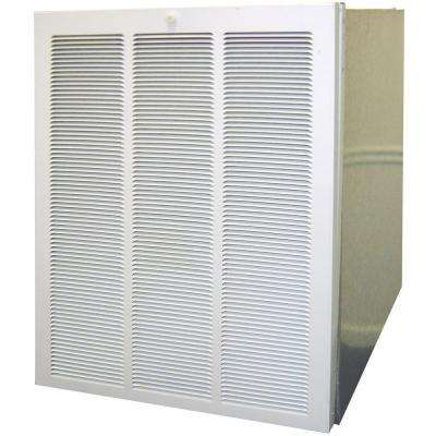 30-1/2 in. x 19-3/4 in. Galvanized Steel Knock Down Return Air Coil Box with Filter