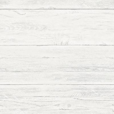 Shiplap Peel and Stick Wallpaper Sample