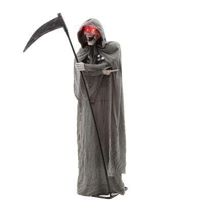 6 ft. Animated Grim Reaper with Sound and Light Effects