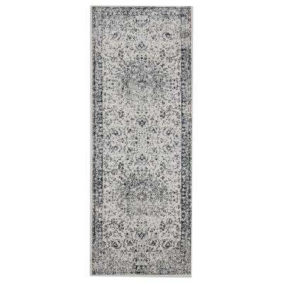 Clairmont Latakia Onyx 2 ft. 7 in. x 7 ft. 2 in. Runner Rug