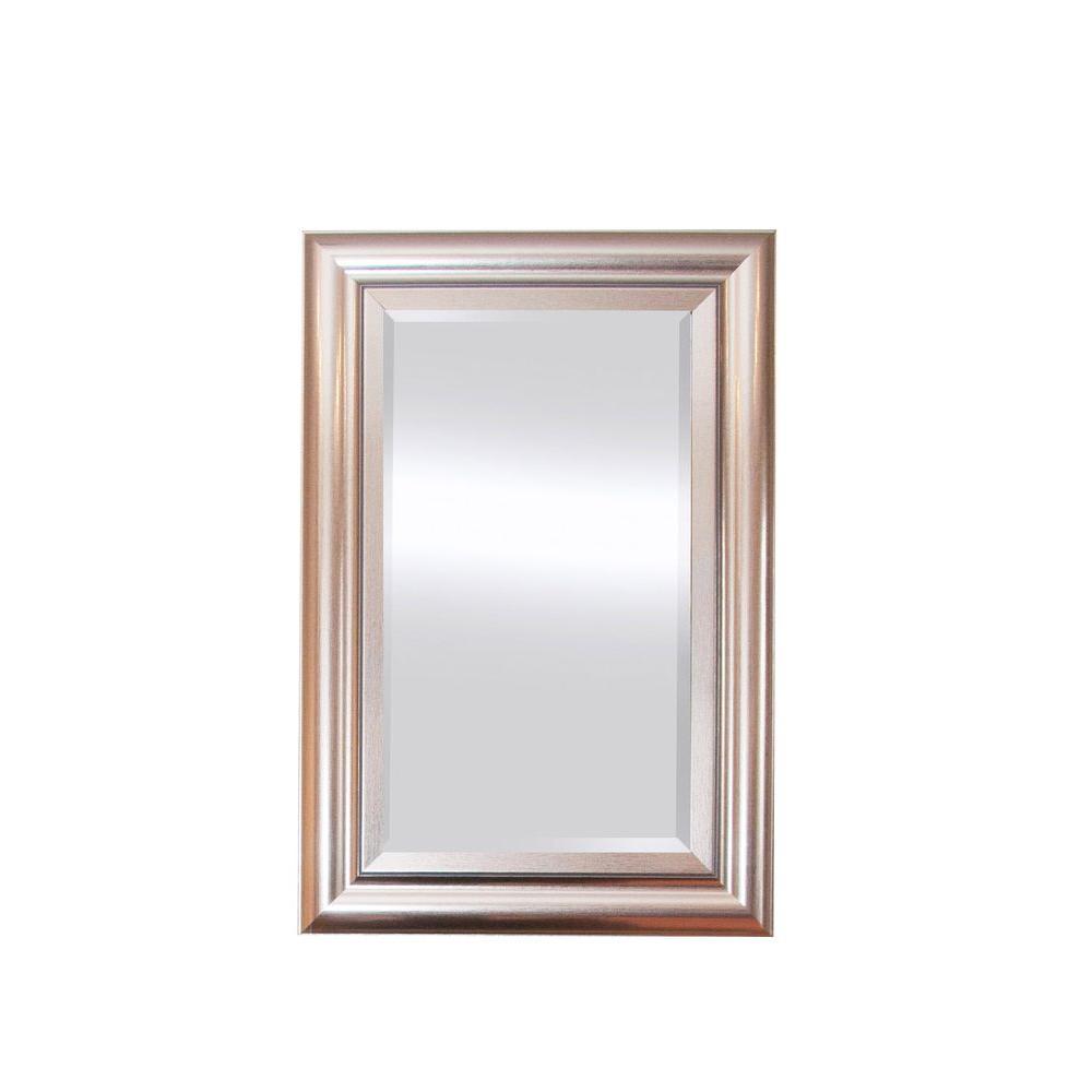 Simpli Home 37 in. x 25 in. Providence Decorative Framed Mirror
