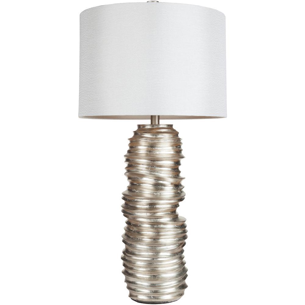 Granard 32 in. Silver Indoor Table Lamp