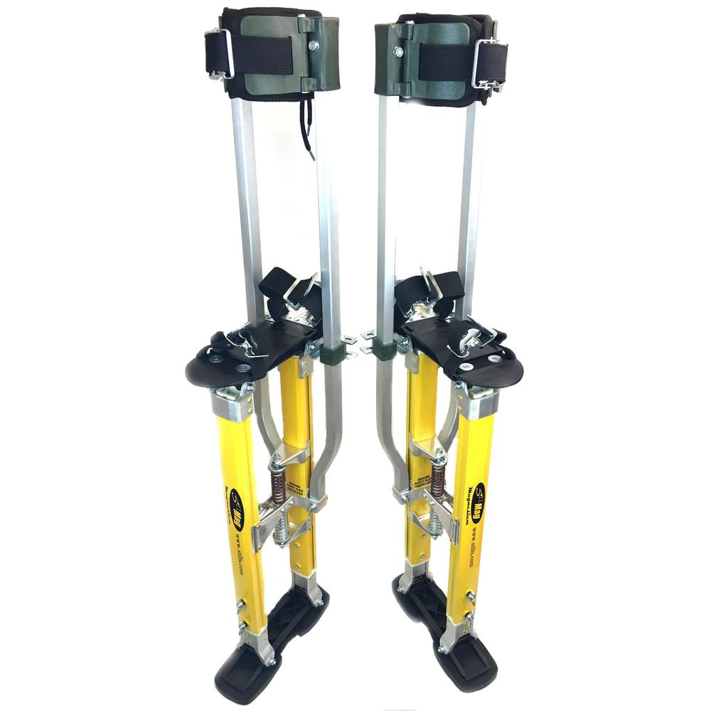 SurPro 24 in. to 40 in. Adjustable Height Dual Legs Support