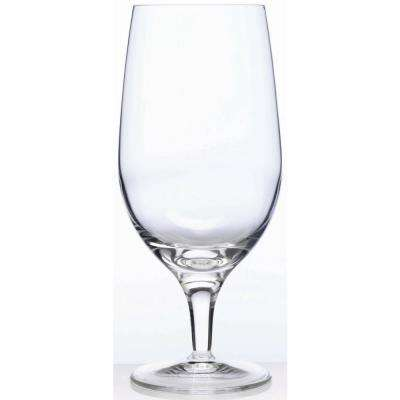 Michelangelo Masterpiece 19.25 fl. oz. Lead-Free Ultra Clear Glass All Purpose Glass (4-Pack)