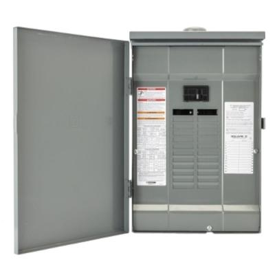 Square D Qo 150 Amp 8 Space 16 Circuit Outdoor Main Breaker Load Center With Feed Thru Lug Qo1816m150ftrb The Home Depot