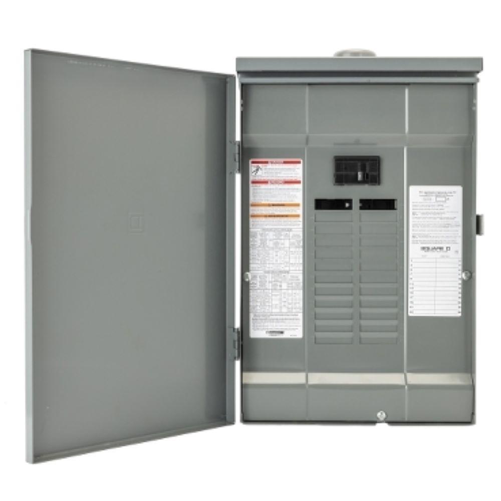 Square D Qo 30 Amp 4 Space 8 Circuit Generator Main Breaker Outdoor Manual Transfer Switch Qo1dm10030trbr The Home Depot