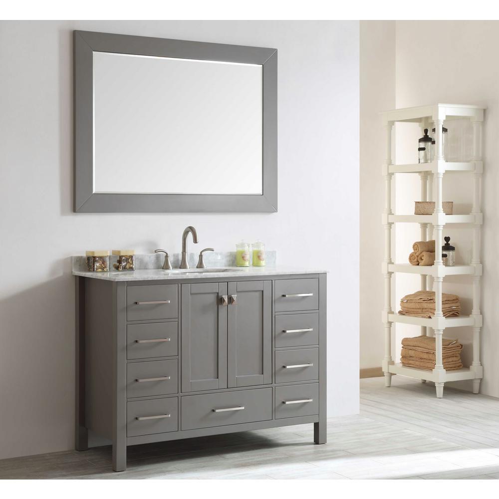 Eviva Bathroom Vanities Bath The Home Depot - Bathroom vanities overland park ks