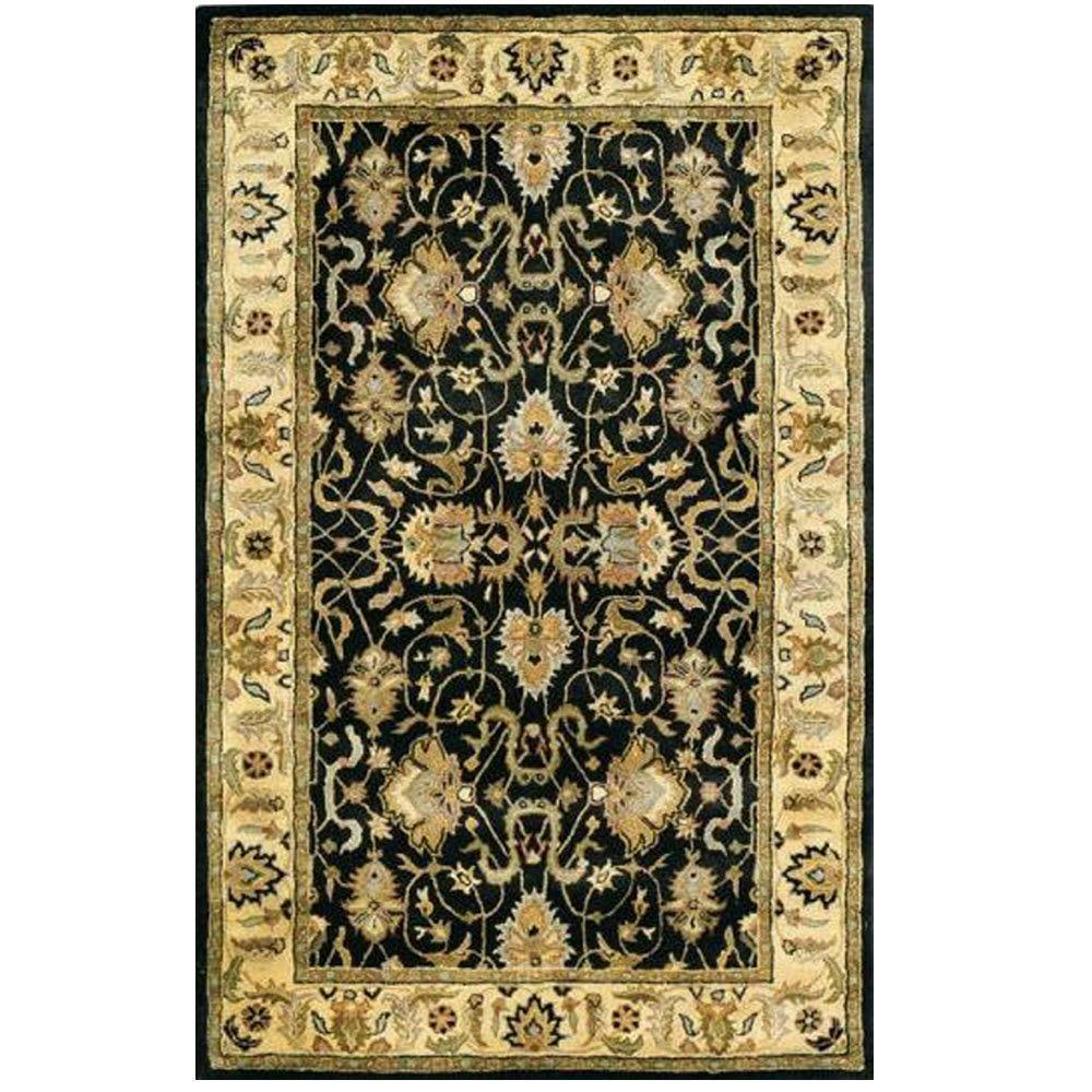 Home Decorators Collection Rochelle Black 5 ft. x 8 ft. Area Rug