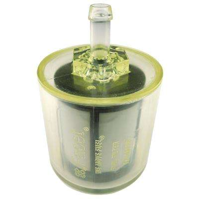 3/8 in. Barb Clear Gas and Diesel Fuel Filter for Cube Electronic Fuel Pump Kit