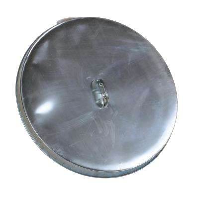 Open Head Galvanized Drum Cover with Handle