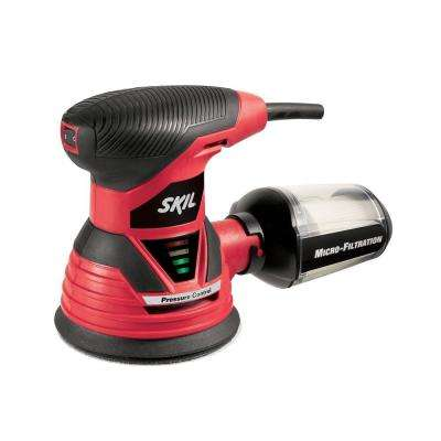 Factory Reconditioned Corded Electric 5 in. Random Orbital Sander with Built-In Vacuum Port