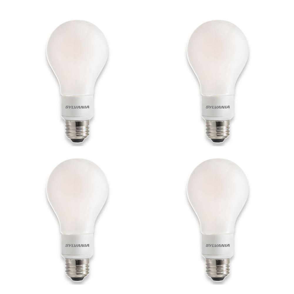 100-Watt Equivalent A21 Dimmable Double Life Household LED Light Bulb Daylight