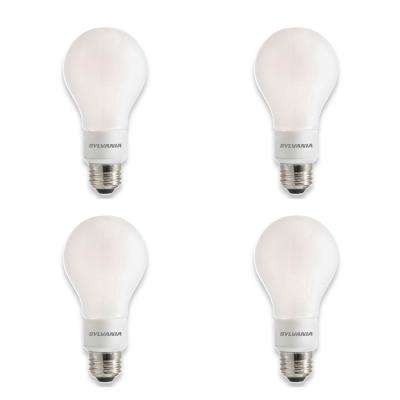 100-Watt Equivalent A21 Dimmable Double Life Household LED Light Bulb Daylight (4-Pack)