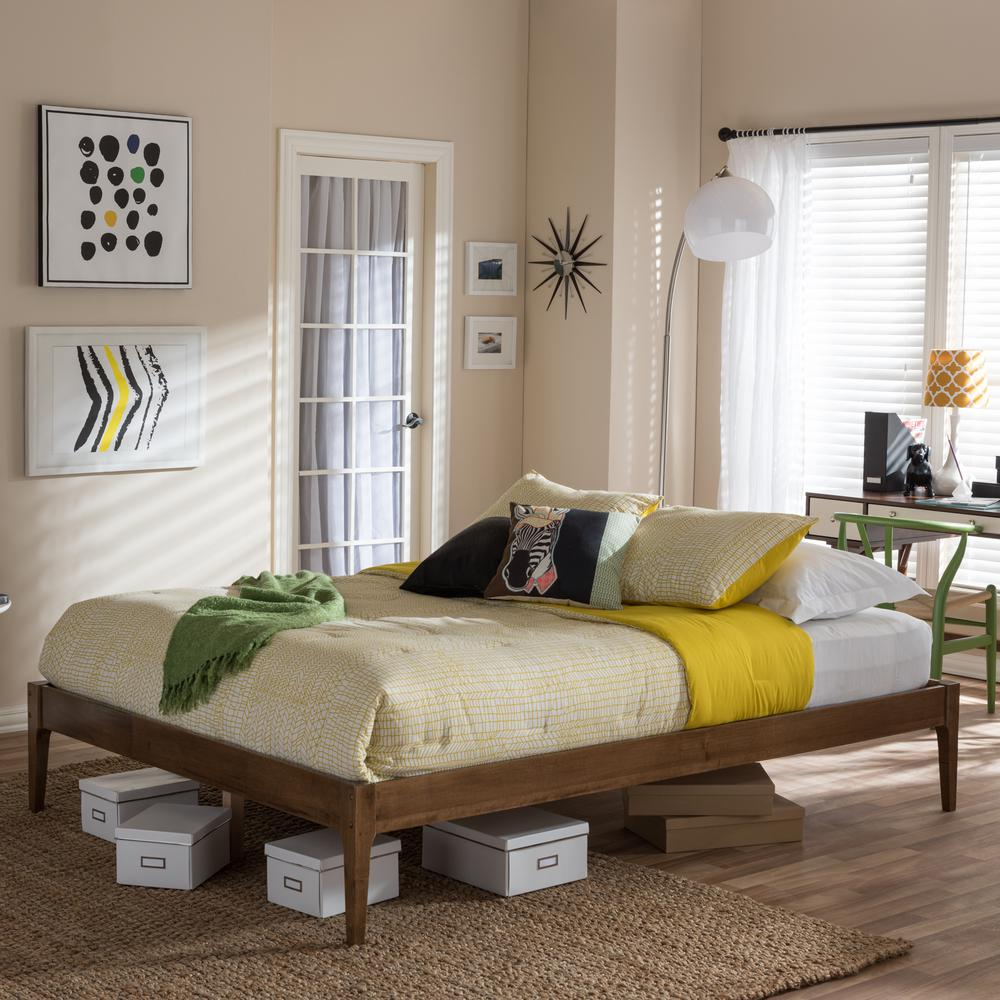 Bentley King Wood Platform Bed