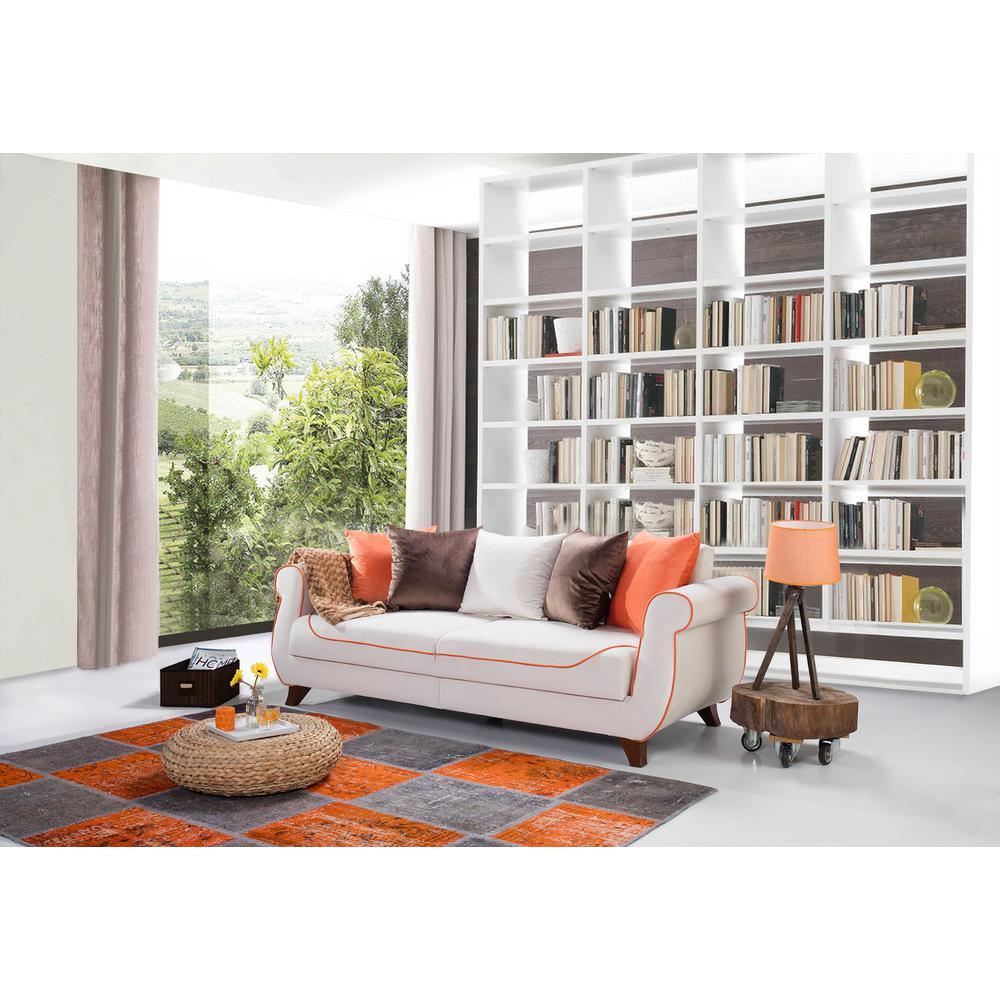 Istanbul Cream Sofa