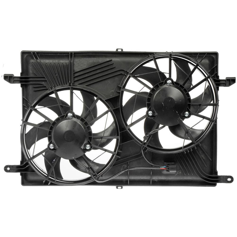 Radiator Cooling Fan Engine for 03-04 Ford Focus w//DOHC /& A//C