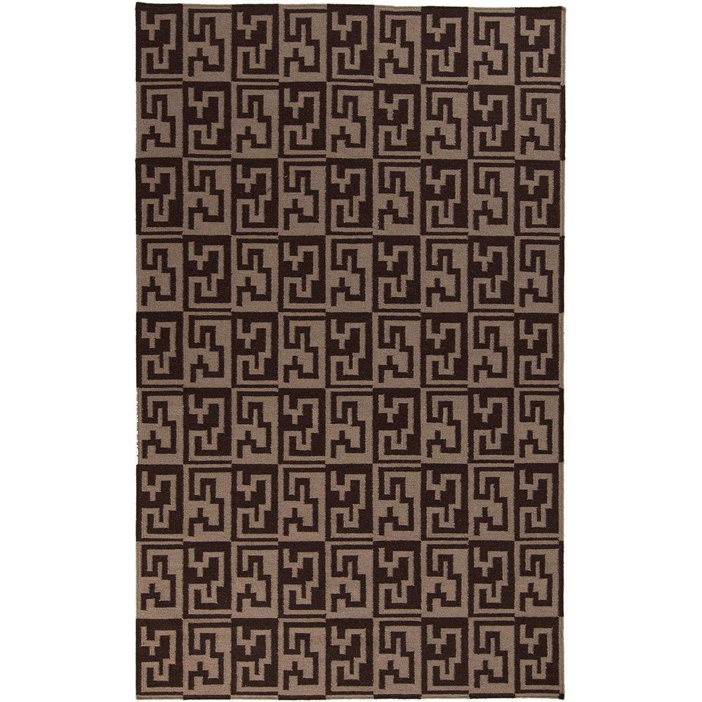 Frontier Chocolate 5 ft. x 8 ft. Indoor Area Rug