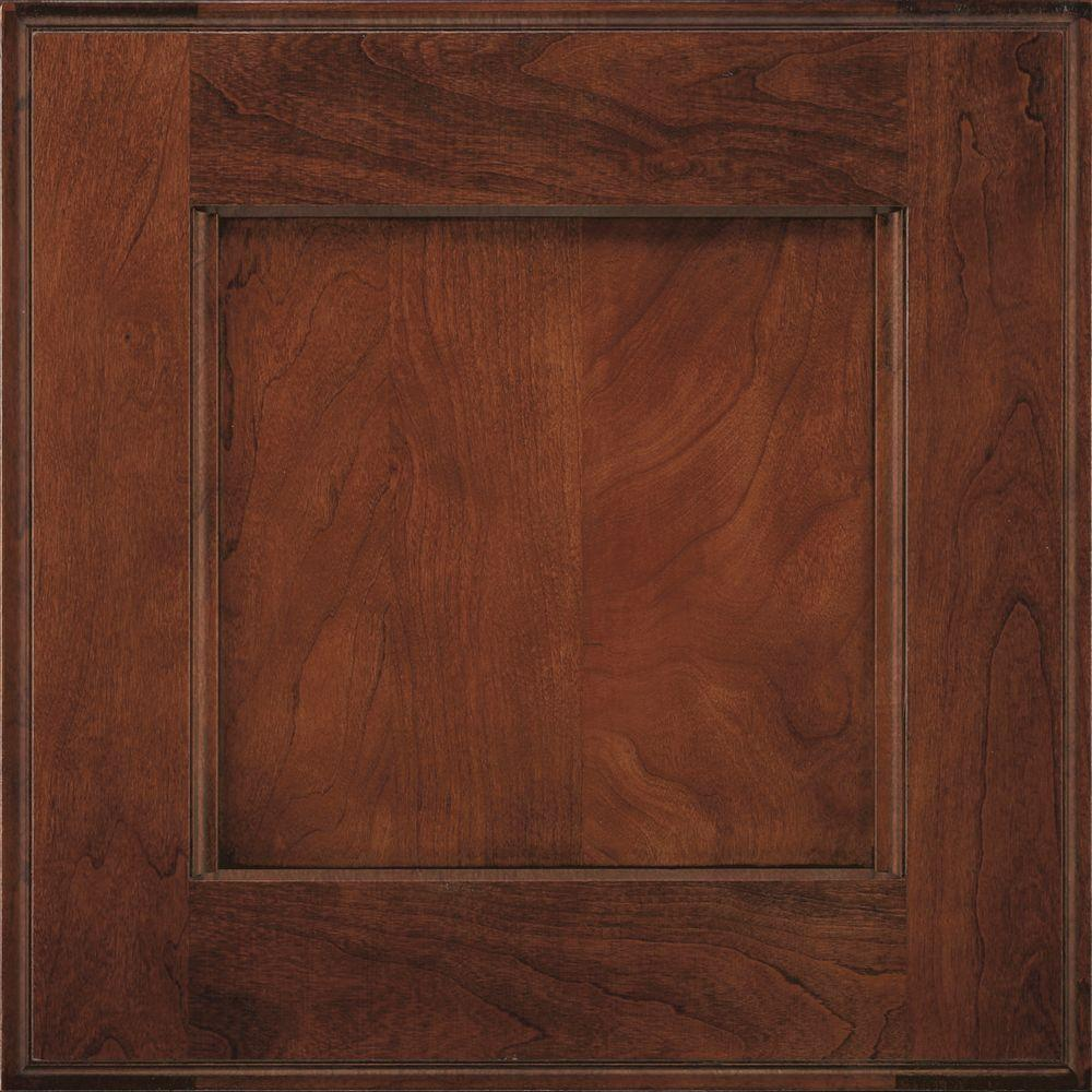 Decora 14.5x14.5 In. Treyburn Cabinet Door Sample In Arlington Espresso