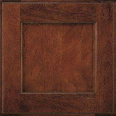 14.5x14.5 in. Treyburn Cabinet Door Sample in Arlington Espresso