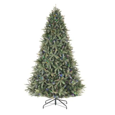 9 ft Asher Blue Spruce Pre-Lit LED Artificial Christmas Tree with 960 Color Changing Lights