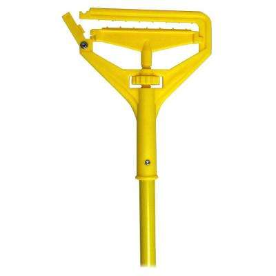 Yellow Speed Change Mop Handle