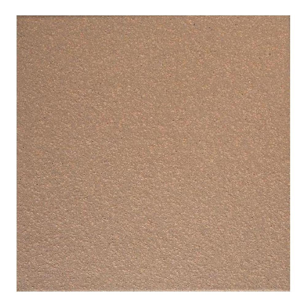 Quarry Adobe Brown 6 in. x 6 in. Abrasive Ceramic Floor