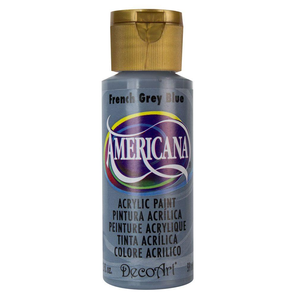 Americana 2 oz. French Blue Grey Acrylic Paint