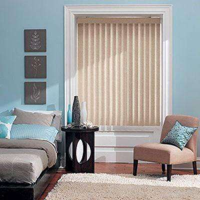 S Shaped Vinyl Vertical Blind