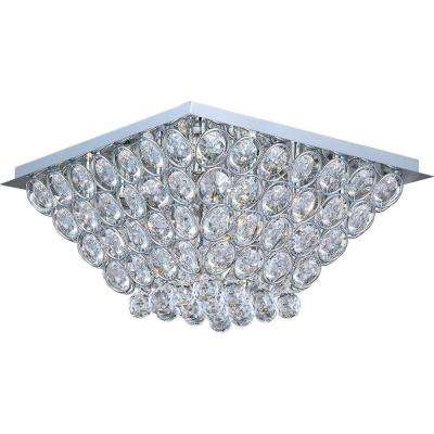 Brilliant 16-Light Flush Mount