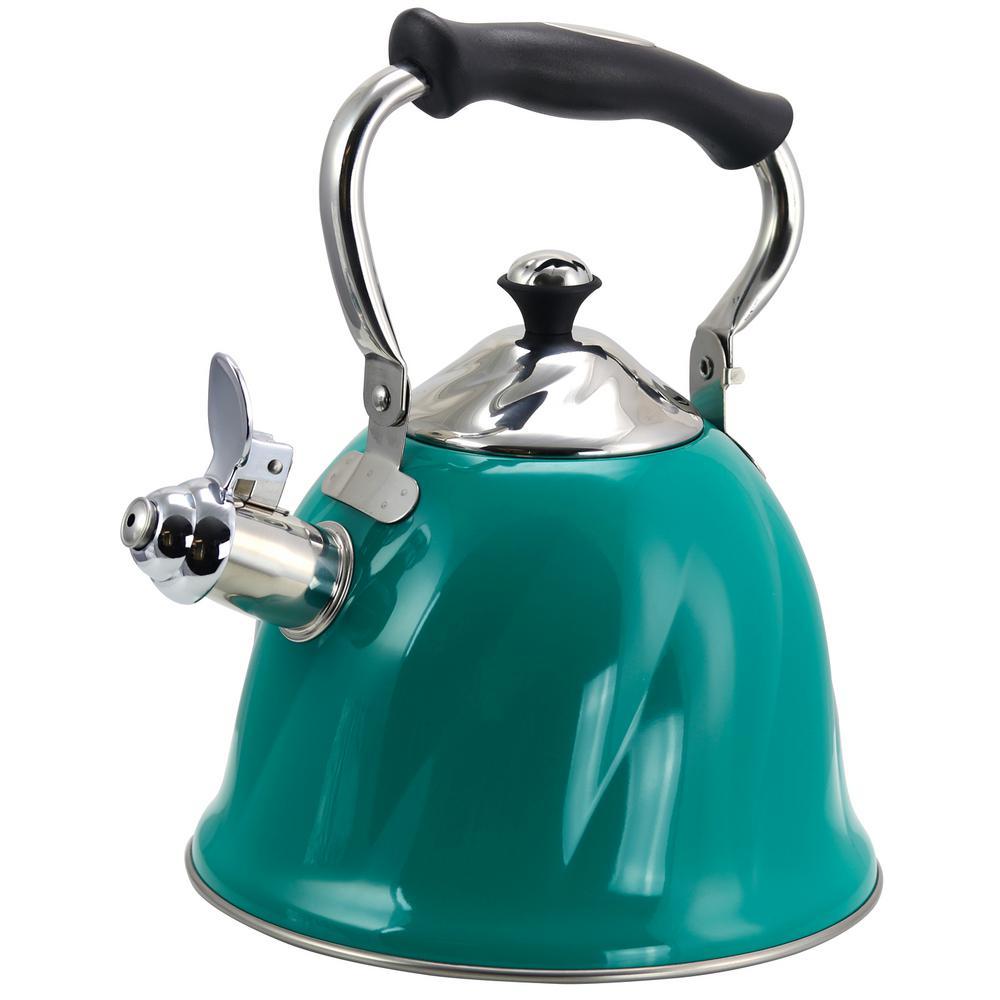 Alberton 10-Cups Emerald Green Tea Kettle
