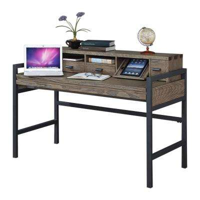 Fremont Toffee 51 in. Smart Top Desk