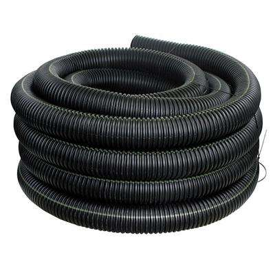 4 in. x 250 ft. Corex Drain Pipe Solid