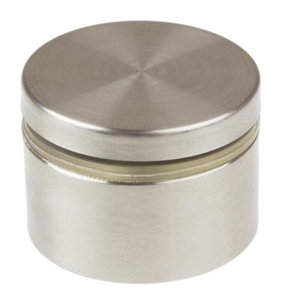 1-1/2 in. Dia x 3/4 in. L Stainless Steel Standoffs for Signs (4-Pack)