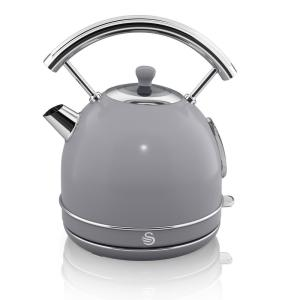 Retro 1.7 l Grey Dome Kettle