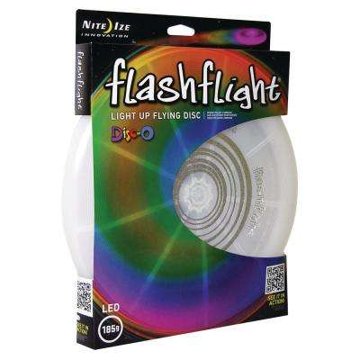 Flashflight LED Light-Up Flying Disc in Disc-O