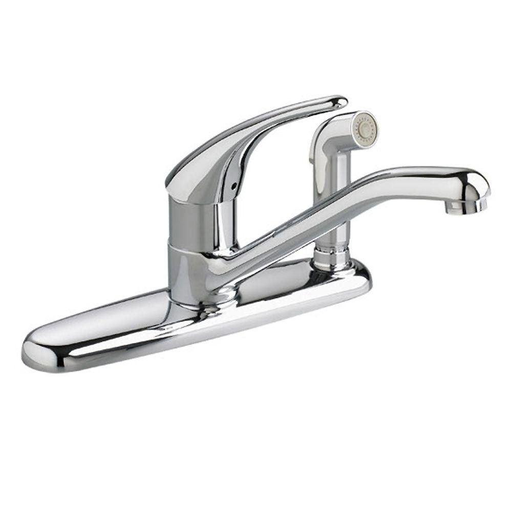 American Standard Kitchen Chrome Faucet Chrome Kitchen