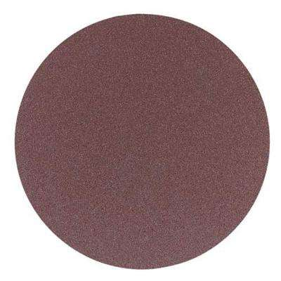 8 in. 80-Grit Aluminum Oxide Sanding Stick-On-Discs (2-Piece)