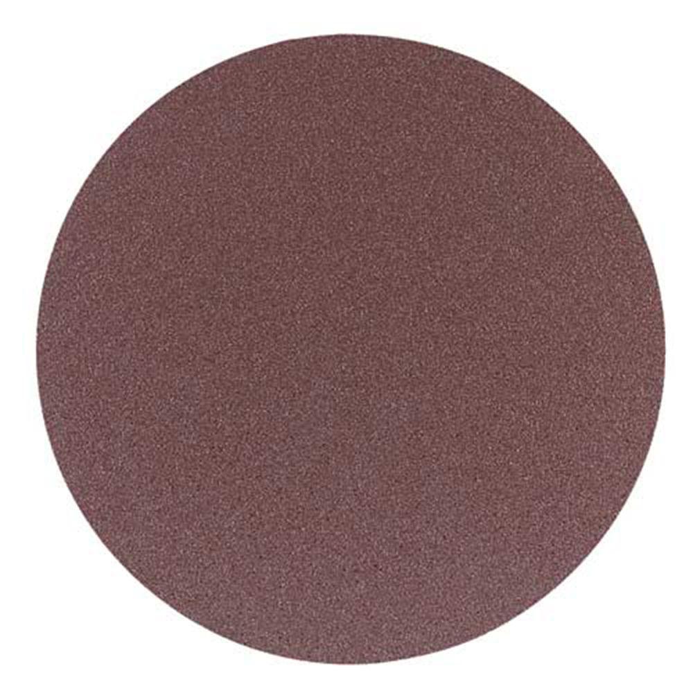 12 in. 80-Grit PSA Aluminum Oxide Sanding Disc (2-Piece)