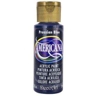 Americana 2 oz. Prussian Blue Acrylic Paint