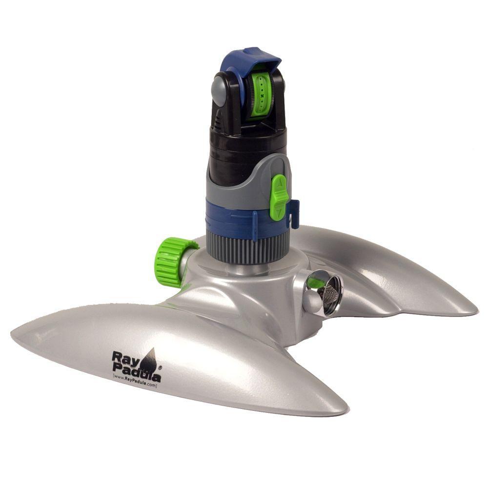 Silent Pulse Turbine Pulsating Sprinkler on Metal In-Series Base