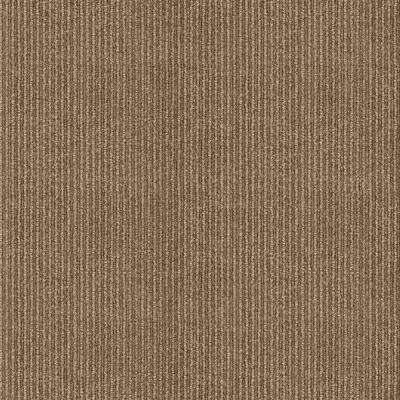 Willingham Chestnut Pattern 18 in. x 18 in. Carpet Tile (16 Tiles/Case)