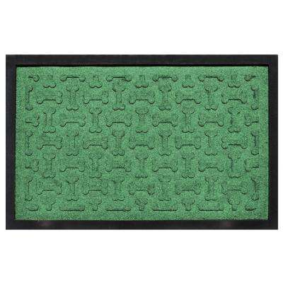 Light Green 18 in. x 27 in. Dog Treats Boot Tray